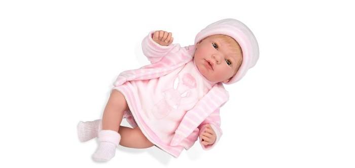 Купить Куклы и одежда для кукол, Arias Elegance Пупс 38 см в розовой одежде