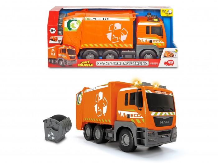 Машины Dickie Мусоровоз MAN 55 см машина dickie мусоровоз 30 см