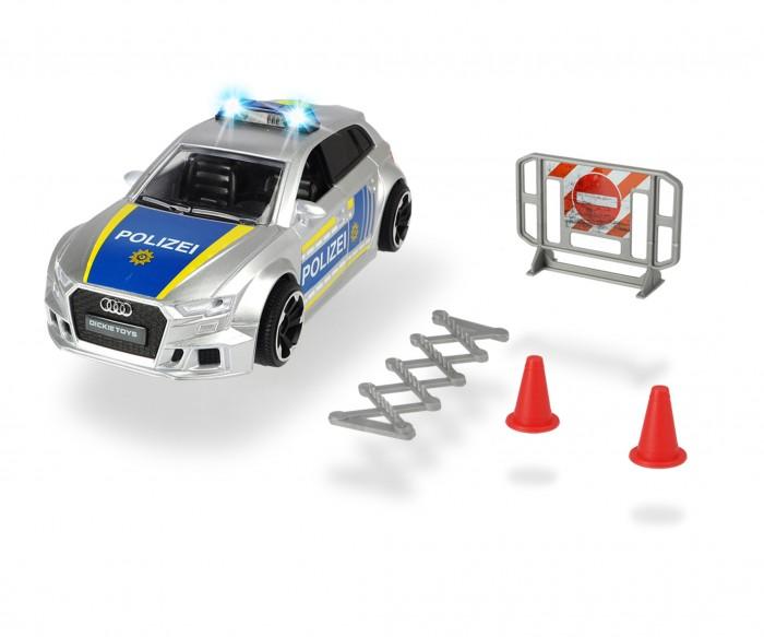 Купить Машины, Dickie Полицейская машинка Audi RS3 1:32 15 см