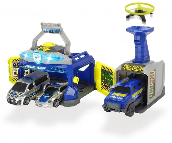 Машины Dickie Полицейская станция 3 машины