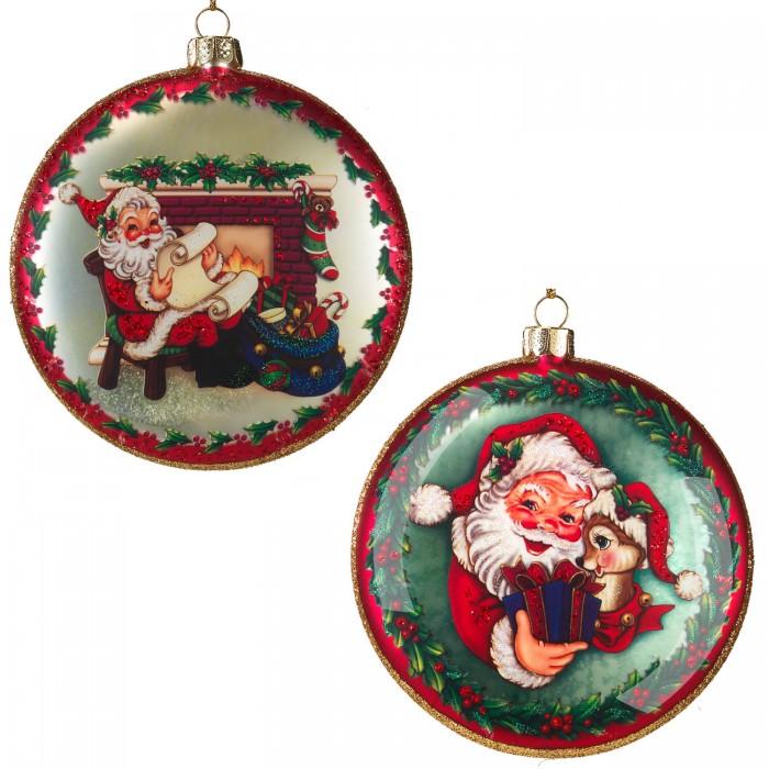 Erich Krause Decor Украшение медальон Подарки Деда Мороза 10 см