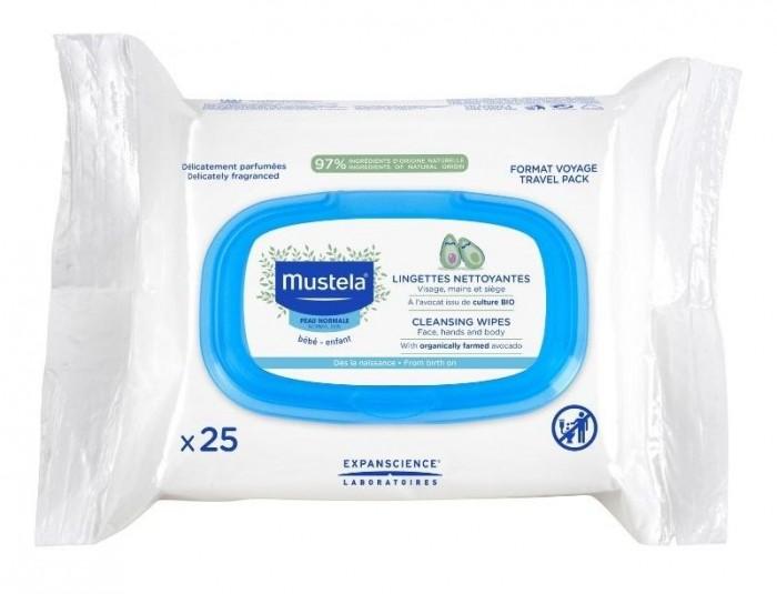 Mustela Очищающие cалфетки для лица