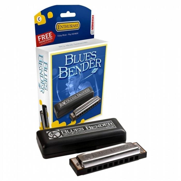 Музыкальный инструмент Hohner Губная гармоника Blues Bender