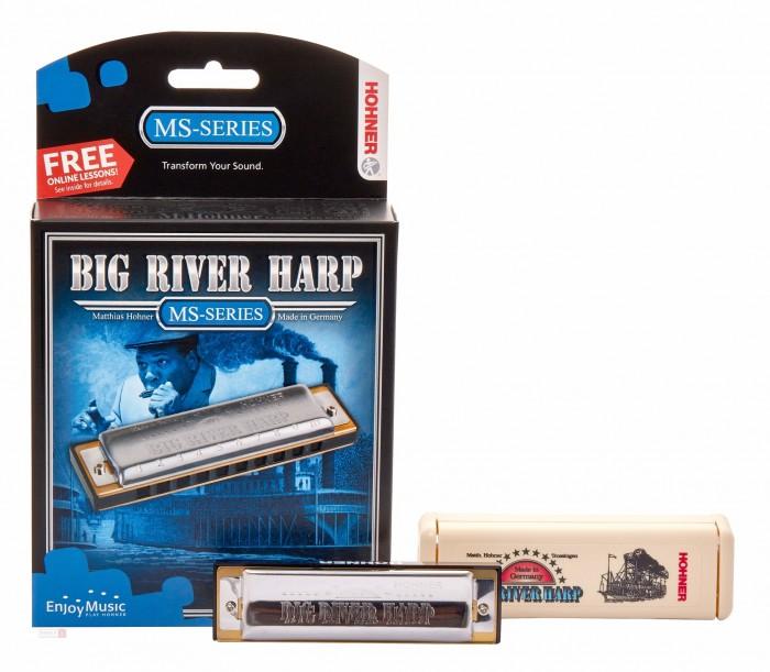 Музыкальный инструмент Hohner Губная гармошка Big river harp 590/20 C