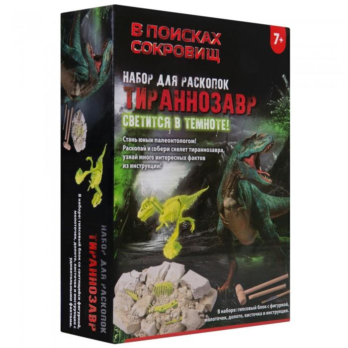 Купить В поисках сокровищ Набор для раскопок Тираннозавр в интернет магазине. Цены, фото, описания, характеристики, отзывы, обзоры