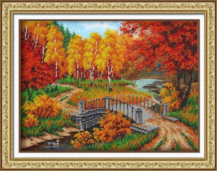 Купить Паутинка Набор для вышивания бисером Осенняя пора в интернет магазине. Цены, фото, описания, характеристики, отзывы, обзоры