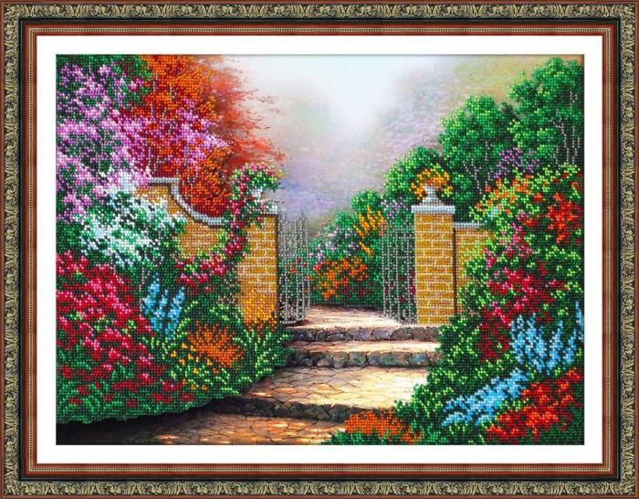 Купить Паутинка Набор для вышивания бисером Дорожка в сад в интернет магазине. Цены, фото, описания, характеристики, отзывы, обзоры