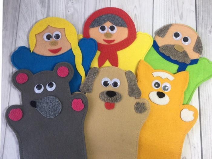Игры для малышей Lip-Lip Театр на руку Репка