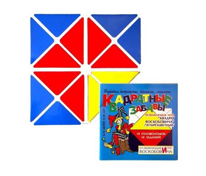 Раннее развитие Игры Воскобовича Квадрат четырехцветный
