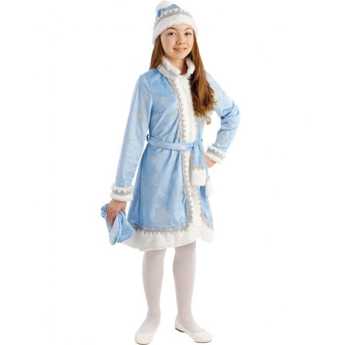 Купить Пуговка Карнавальный костюм Снегурочка Новогодняя сказка в интернет магазине. Цены, фото, описания, характеристики, отзывы, обзоры