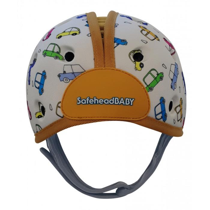 Купить SafeheadBaby Мягкая шапка-шлем для защиты головы Машинки в интернет магазине. Цены, фото, описания, характеристики, отзывы, обзоры