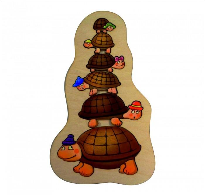 Деревянные игрушки Смайл Декор Пазл Черепашки