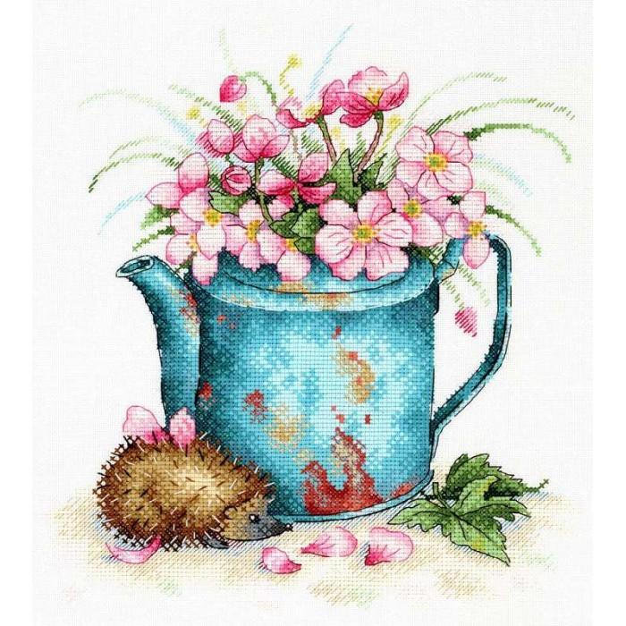Купить МП Студия Набор для вышивания Очаровательный ёжик в интернет магазине. Цены, фото, описания, характеристики, отзывы, обзоры