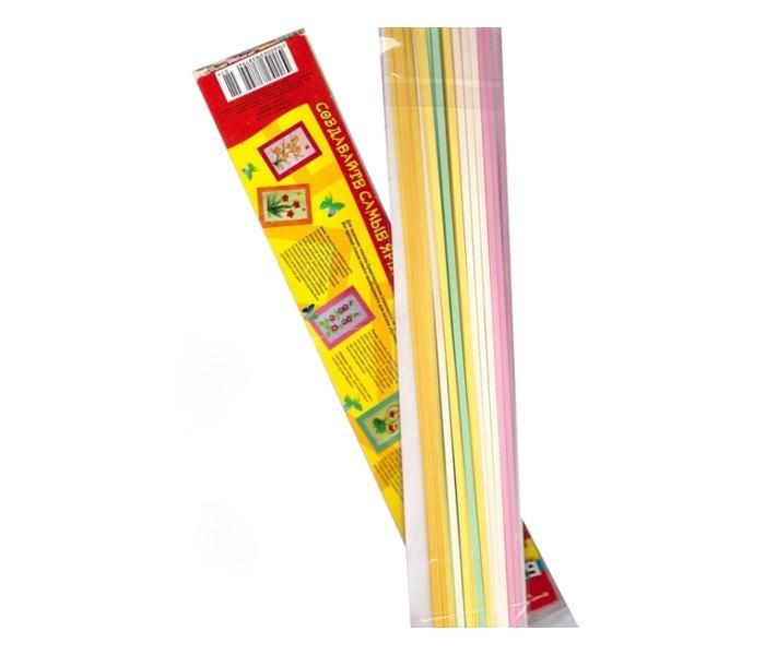 Канцелярия Апплика Бумага для квиллинга ширина 3 мм 8 цветов альт бумага для квиллинга 10 мм 100 полос цвет оранжевый
