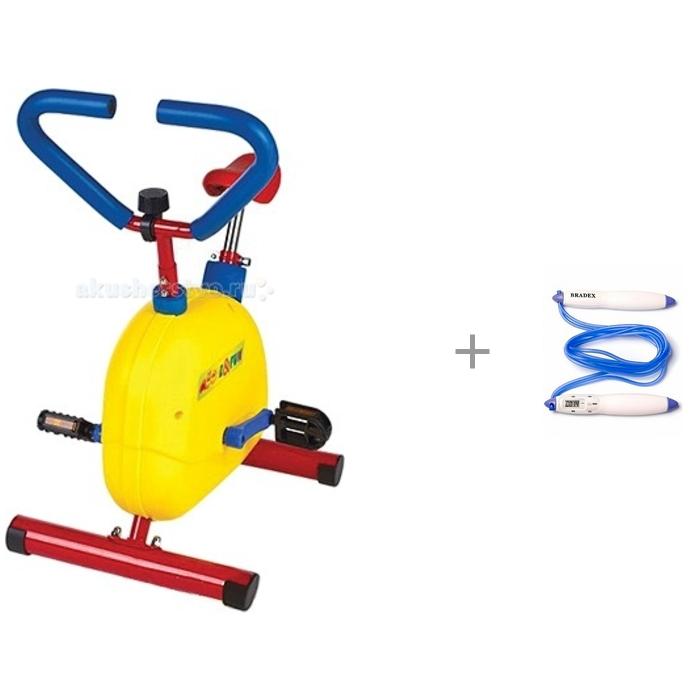 Купить Тренажеры, Moove&Fun Велотренажер механический и Bradex Скакалка со счётчиком прыжков Контроллер