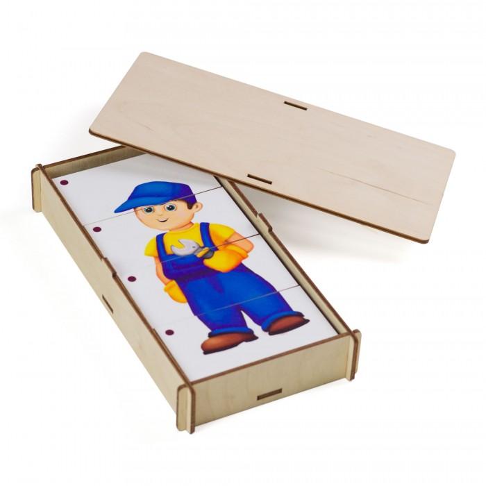 Деревянная игрушка Сибирские игрушки Собери картинку Профессии