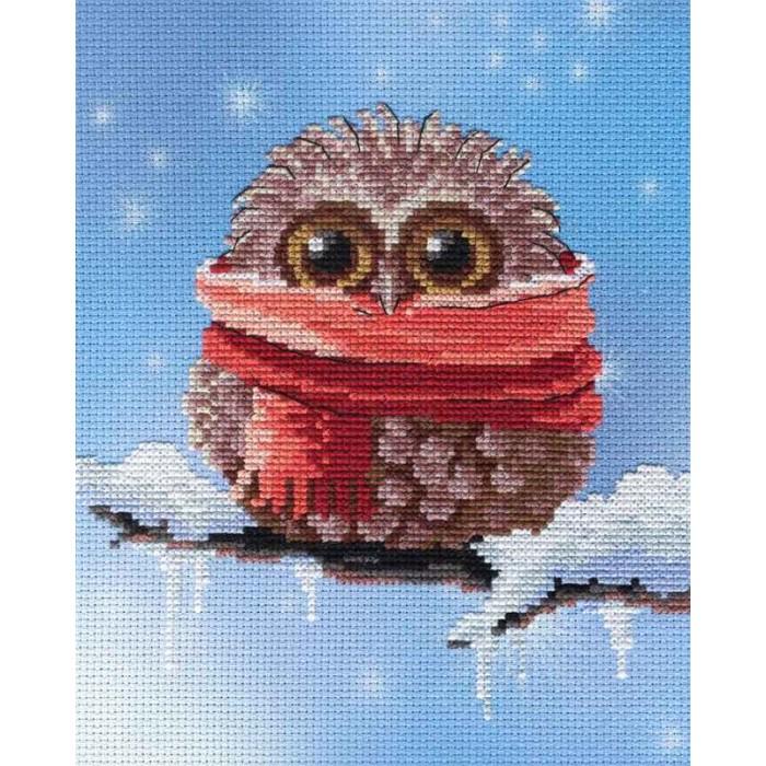 МП Студия Набор для вышивания Совенок зима