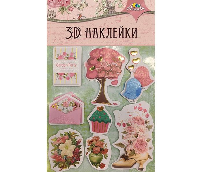 Купить Апплика Материалы для творчества Наклейки 3D с глиттером и фольгой С3484-01 в интернет магазине. Цены, фото, описания, характеристики, отзывы, обзоры