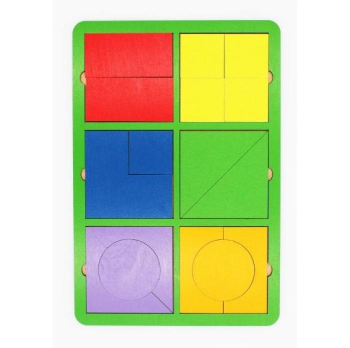 Деревянные игрушки Tau Toy Игра логическая Собери квадрат