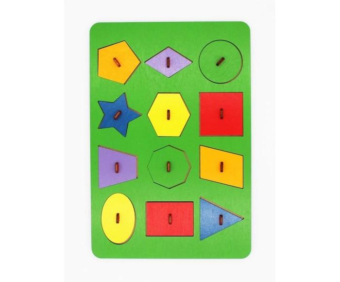 Фото - Деревянные игрушки Tau Toy Игра логическая Геометрия Монтессори деревянные игрушки уланик игра монтессори грибная поляна 25 грибочков