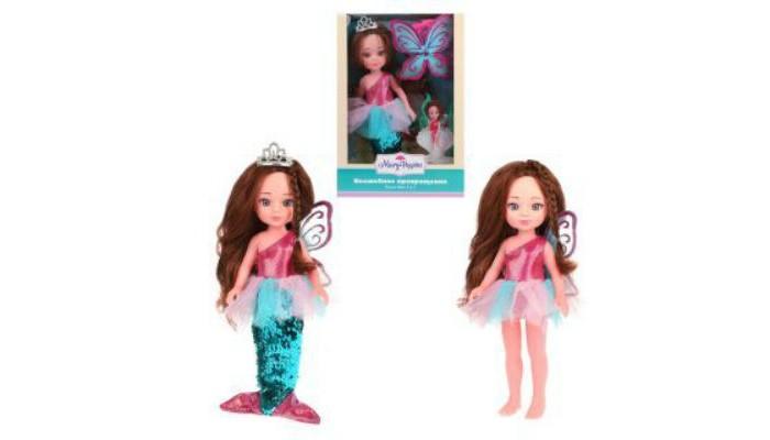 Картинка для Куклы и одежда для кукол Mary Poppins Волшебное превращение Кукла Фея-русалка 2 в 1 31 см