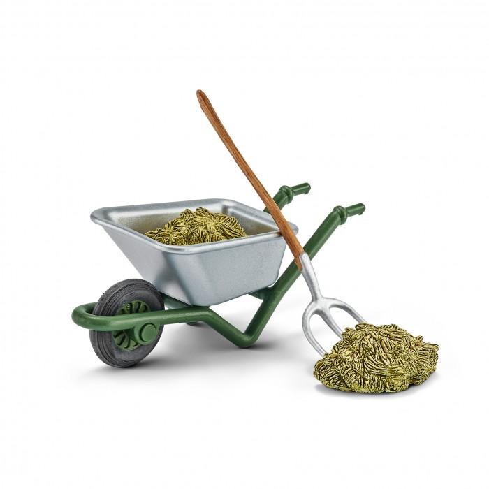 Картинка для Schleich Фигурка Набор для чистки конюшни на ферме