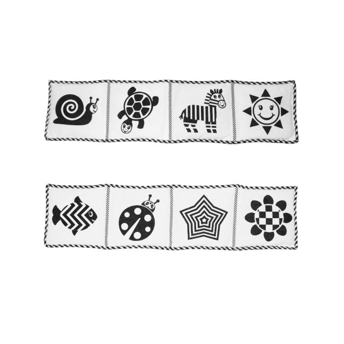 Развивающие игрушки Потешка Mimi книжка с черно-белыми картинками развивающие игрушки потешка mimi книжка с черно белыми картинками