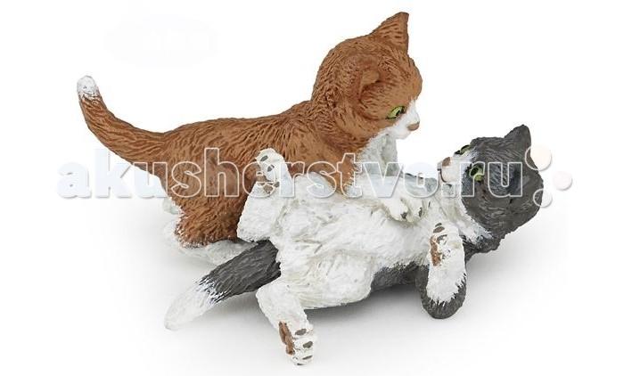 Игровые фигурки Papo Игровая реалистичная фигурка Играющие котята игровые фигурки papo игровая реалистичная фигурка цератозавр