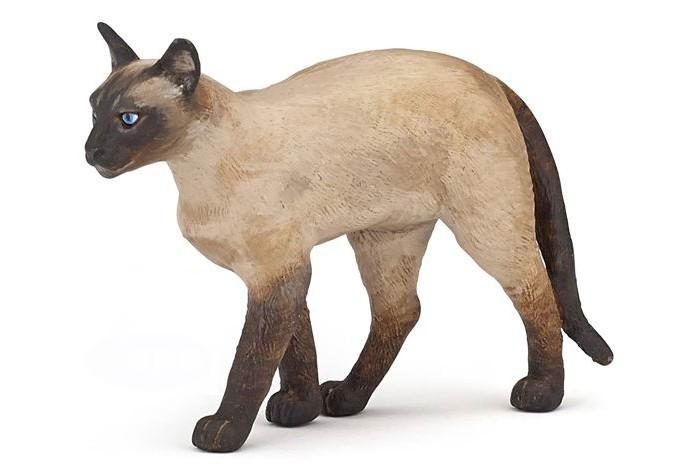 Игровые фигурки Papo Игровая реалистичная фигурка Сиамский кот фигурки art east фигурка кот микадо шамот