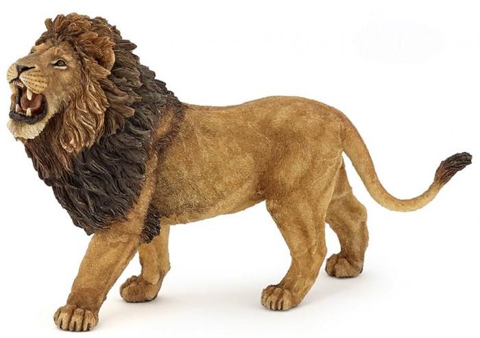 Игровые фигурки Papo Игровая реалистичная фигурка Ревущий лев