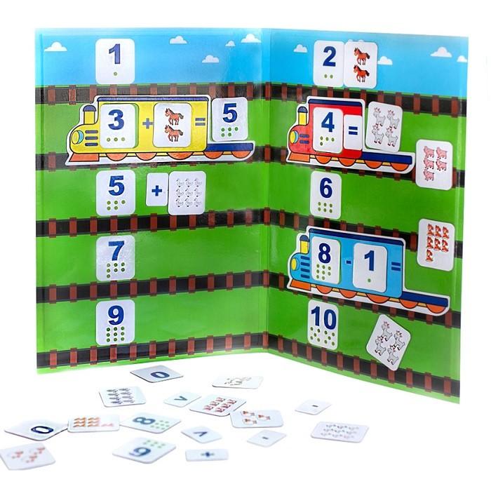 База игрушек Магнитная игра Учимся считать.