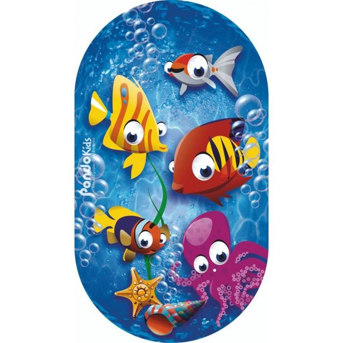 Коврики для купания Pondo Kids для ванны Рыбки 69х39 недорого