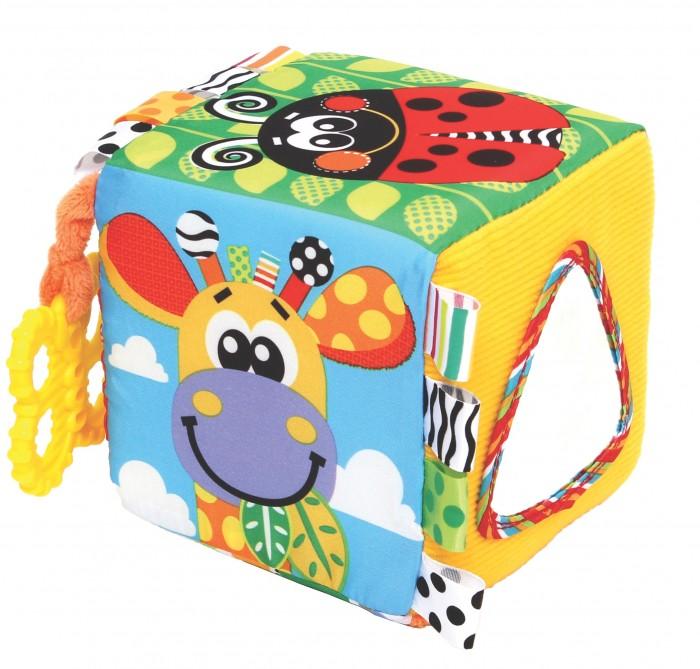 Развивающая игрушка Playgro Кубик с набивкой