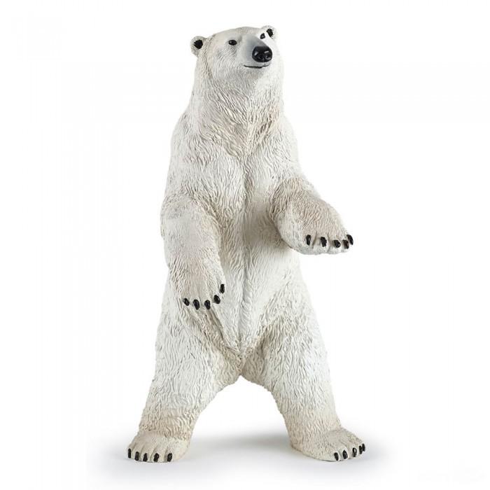 Игровые фигурки Papo Игровая реалистичная фигурка Стоящий полярный медведь