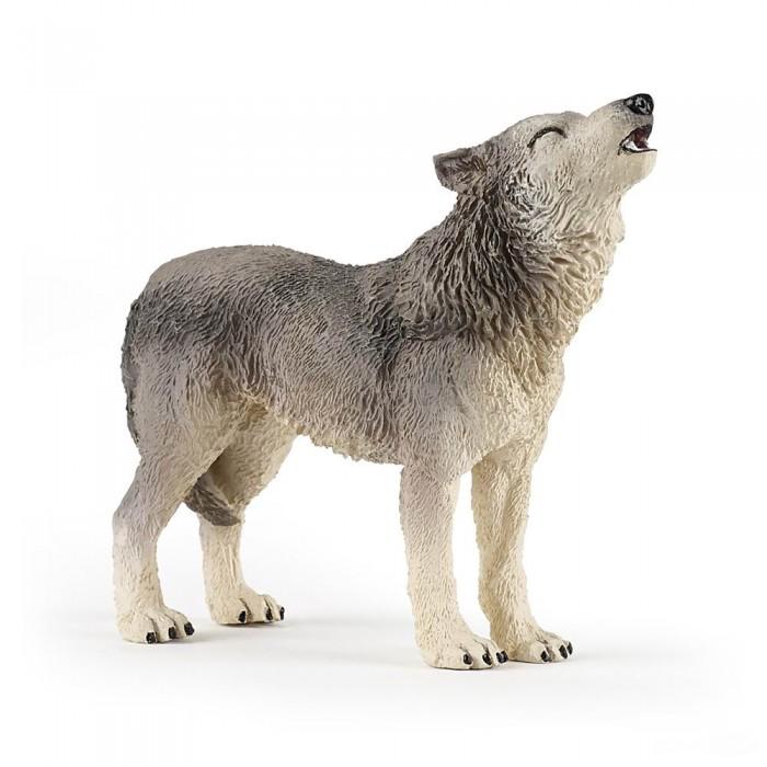 Игровые фигурки Papo Игровая реалистичная фигурка Воющий волк