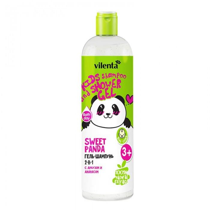Косметика для новорожденных Vilenta Гель-шампуньSweet Panda с арбузом и ананасом 2 в 1 400 мл