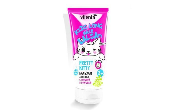 Косметика для новорожденных Vilenta Бальзам для волос Pretty Kitty с ромашкой 200 мл