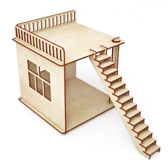 Кукольные домики и мебель ХэппиДом Пристройка и лестница для домика