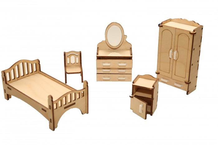 Кукольные домики и мебель ХэппиДом Мебель для кукольного домика Спальня