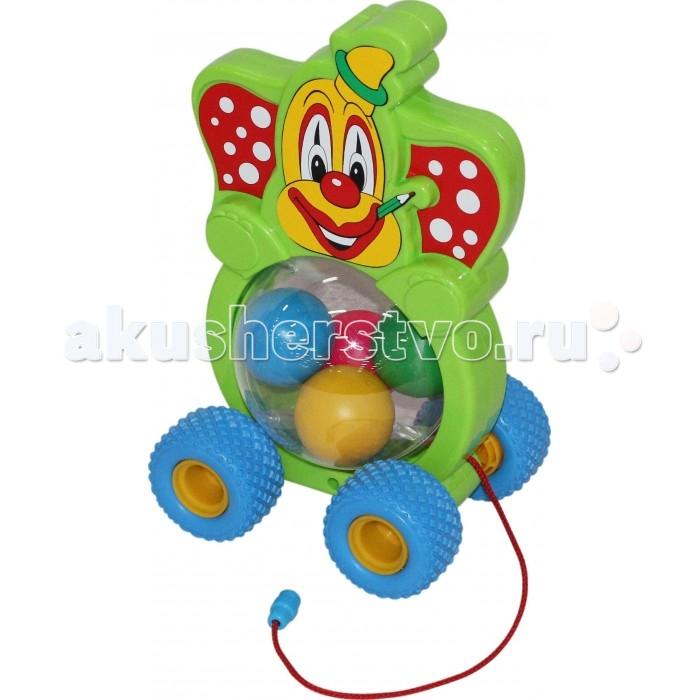 Каталки-игрушки Полесье Клоун каталка игрушка полесье биосфера котёнок 54456
