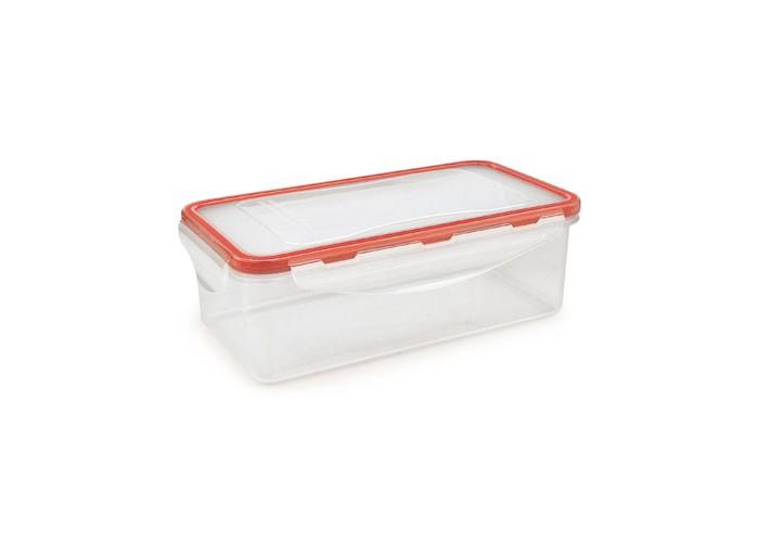 Контейнеры для еды Iris Barcelona Герметичный пластиковый контейнер 0.8 л planet nails контейнер для дезинфекции пластиковый с крышкой планет нейлс 1 шт белая