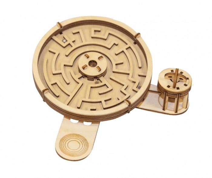 Деревянная игрушка Uniwood Головоломка лабиринт Клубок Ариадны