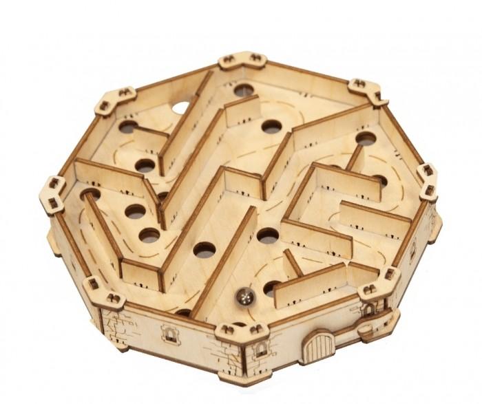 Деревянная игрушка Uniwood Головоломка лабиринт Побег из Замка