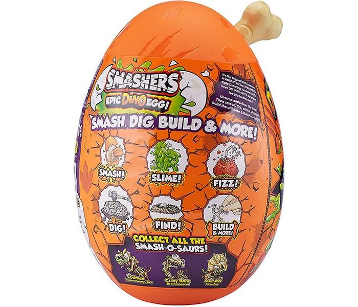 Zuru Smashers Гигантское яйцо динозавра фото
