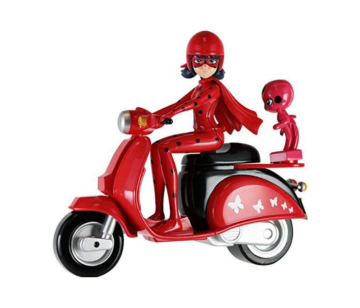 Miraculous Леди Баг на скутере