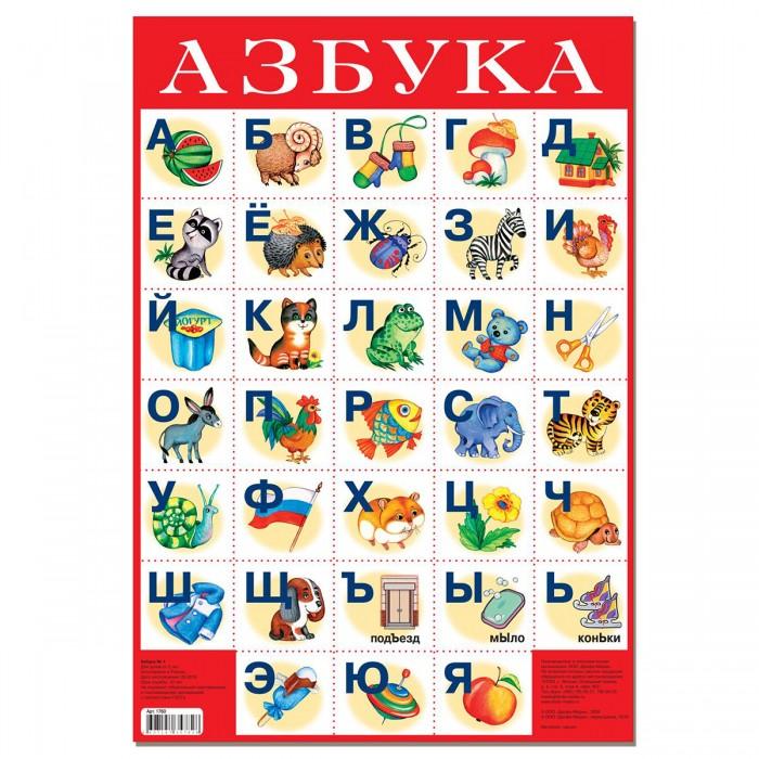 Обучающие плакаты Дрофа Плакат Азбука №1 азбука для православных детей