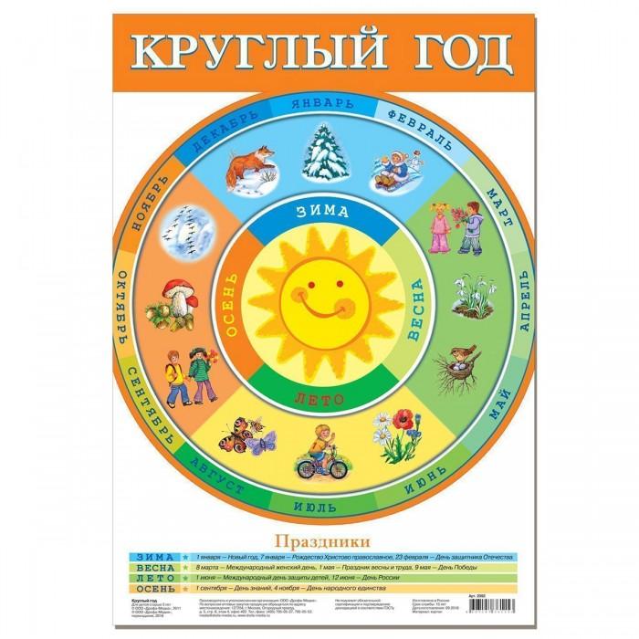 цена на Обучающие плакаты Дрофа Обучающий плакат Круглый год