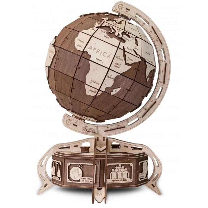 Купить Конструкторы, Конструктор Eco Wood Art 3D EWA Глобус