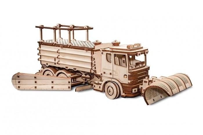 Купить Сборные модели, Eco Wood Art 3D EWA Снегоуборочная машина