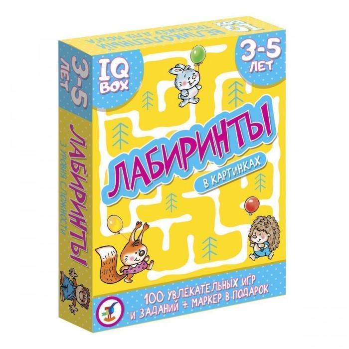 Настольные игры Дрофа IQ Box Лабиринты 3-5 лет
